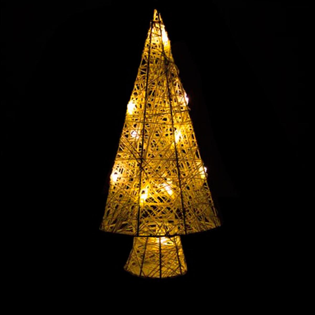 Arbol de navidad led color blanco calido - Arbol navidad led ...
