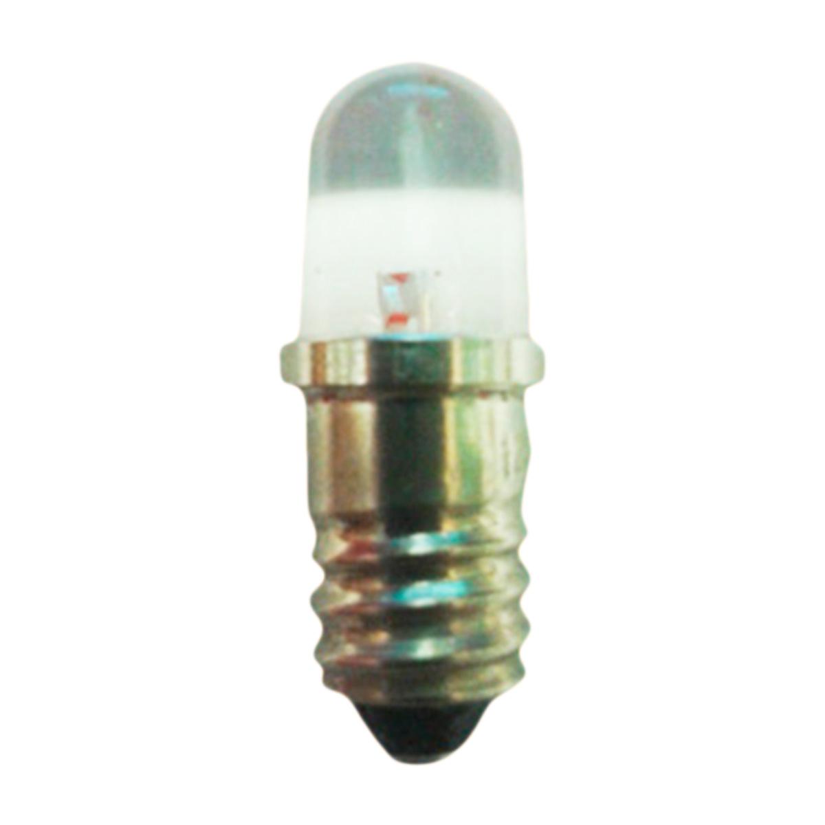 Bombilla led e10 12v color rojo alta luminosidad - Bombilla led 12v ...