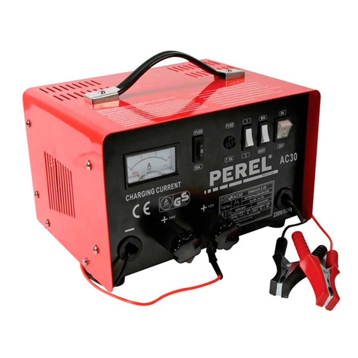 Cargador bateria de plomo - acido 12/24V 20A