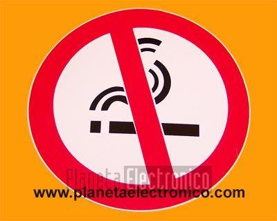 Cartel pegatina se alizacion prohibido fumar for Cartel oficina