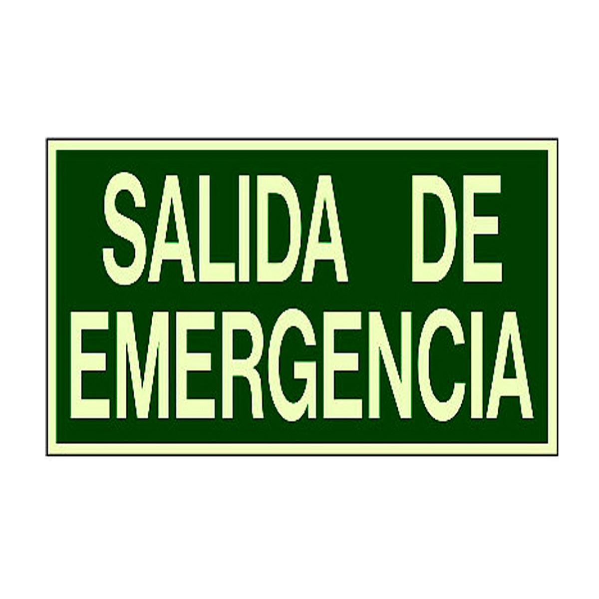 Cartel salida de emergencia for Puerta salida de emergencia
