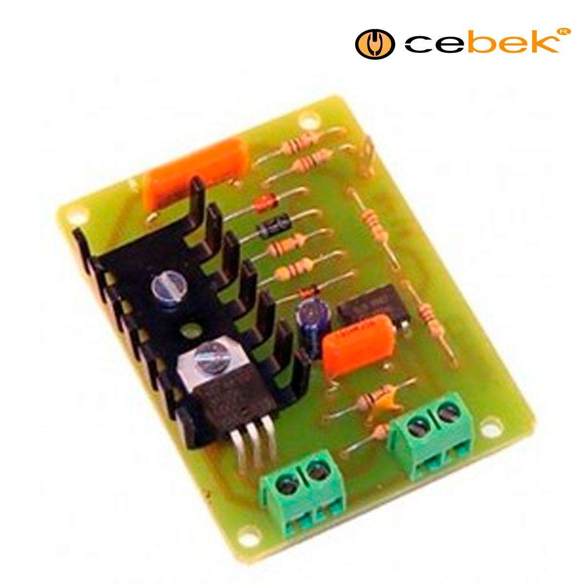 Cebek r 14 regulador de luz tactil para belenes kit - Regulador de intensidad de luz ...