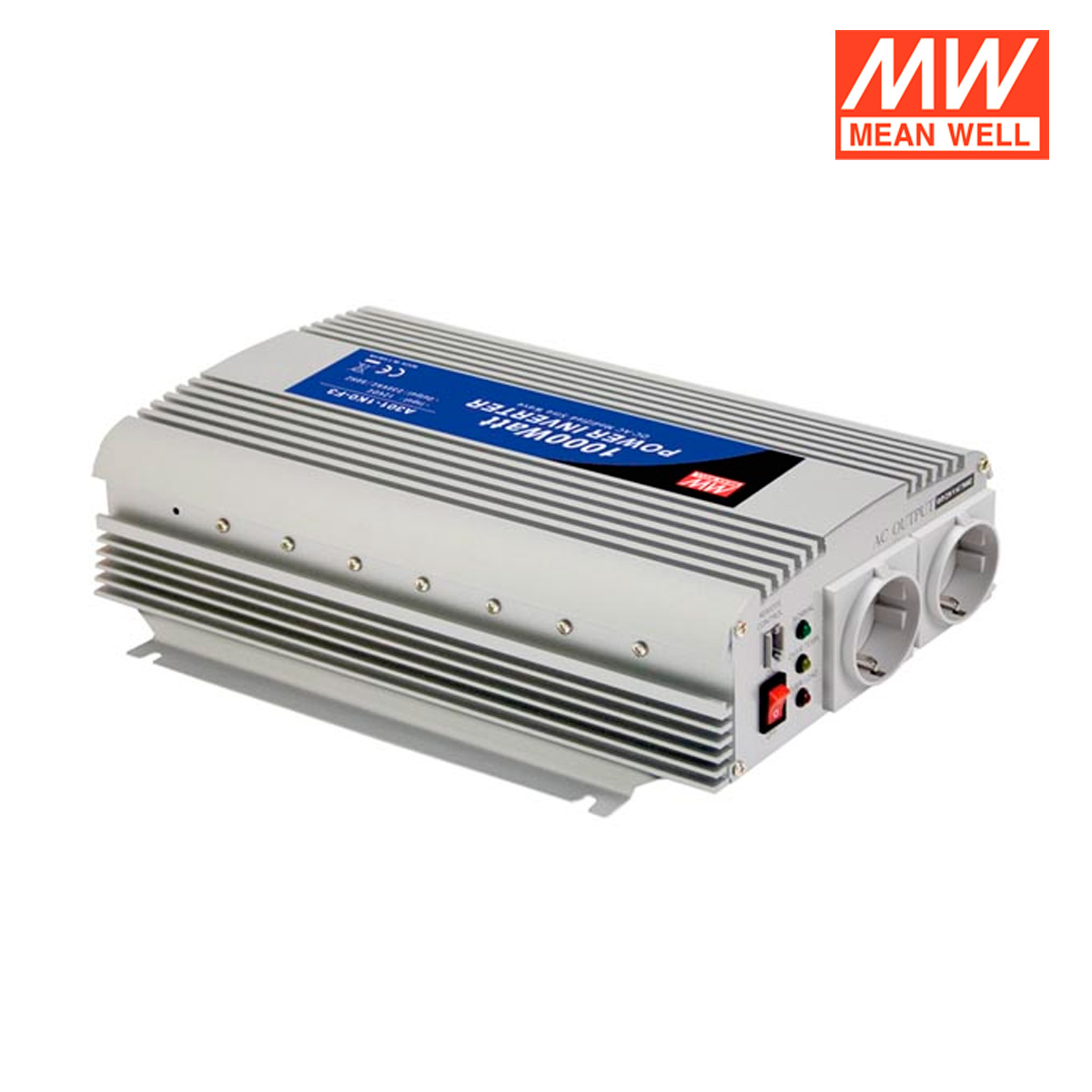 inversor de corriente cc ca 12 220v 1000w