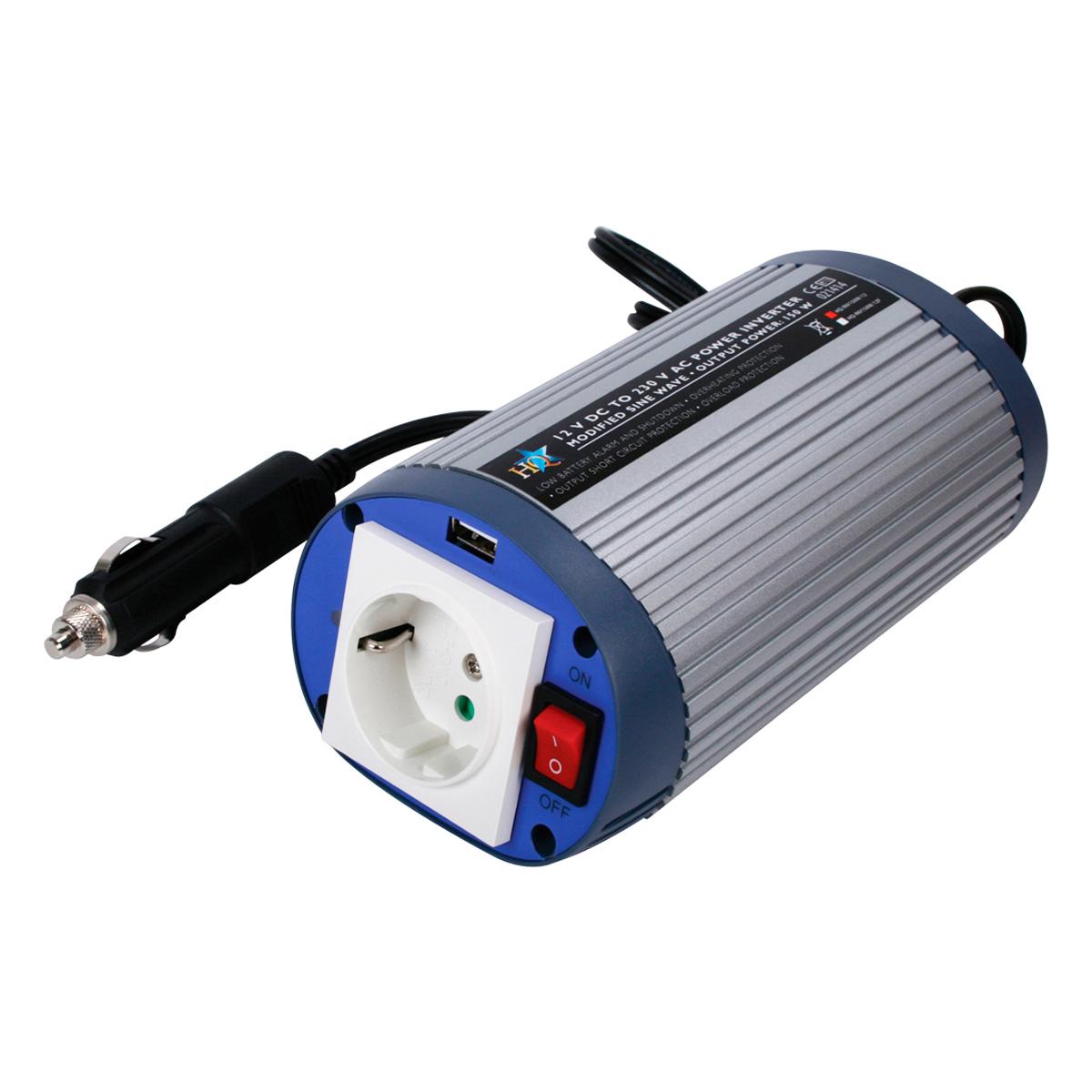 Inversor de corriente cc ca 12 220v 150w coche - Inversor de corriente ...