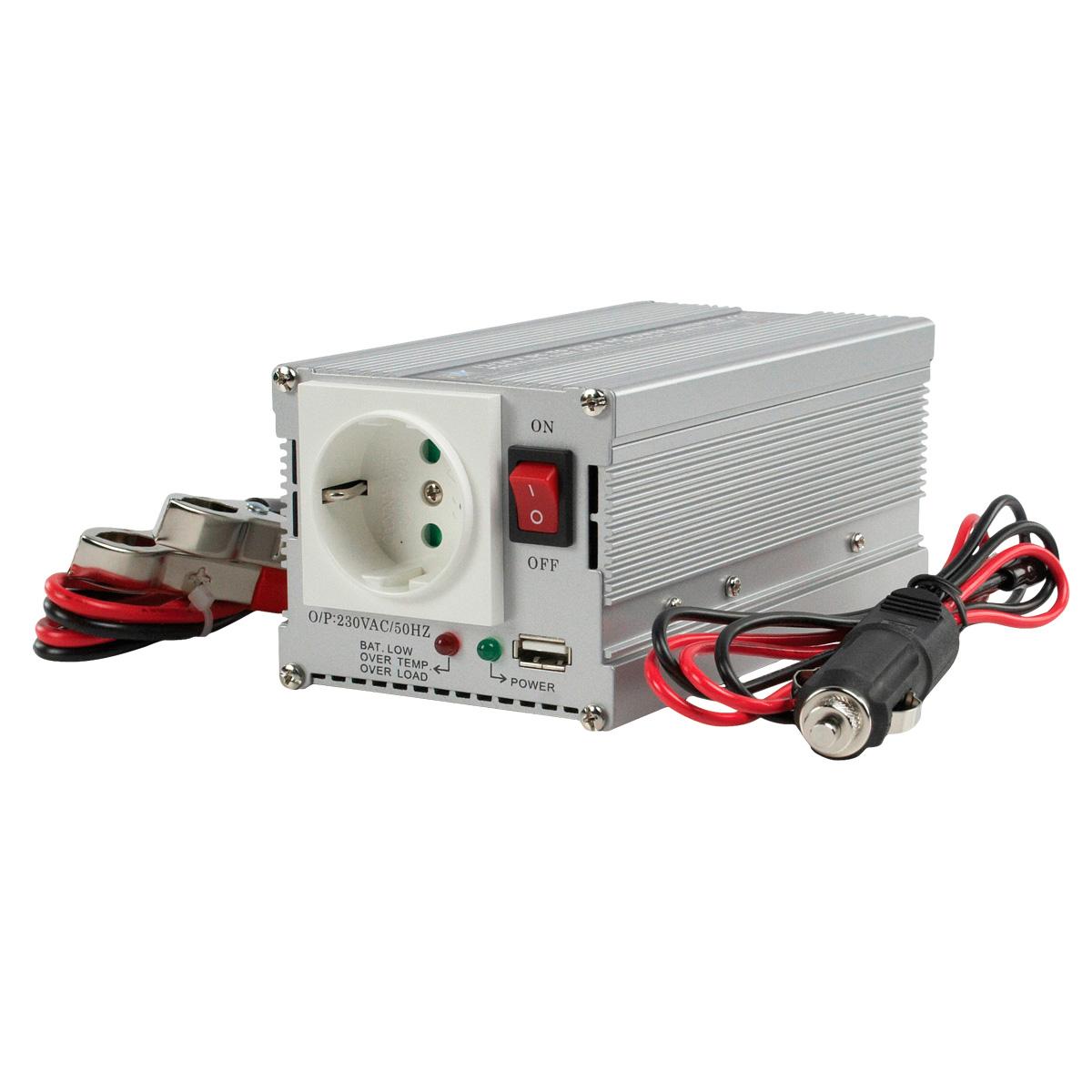 inversor de corriente cc ca 12 220v 300w