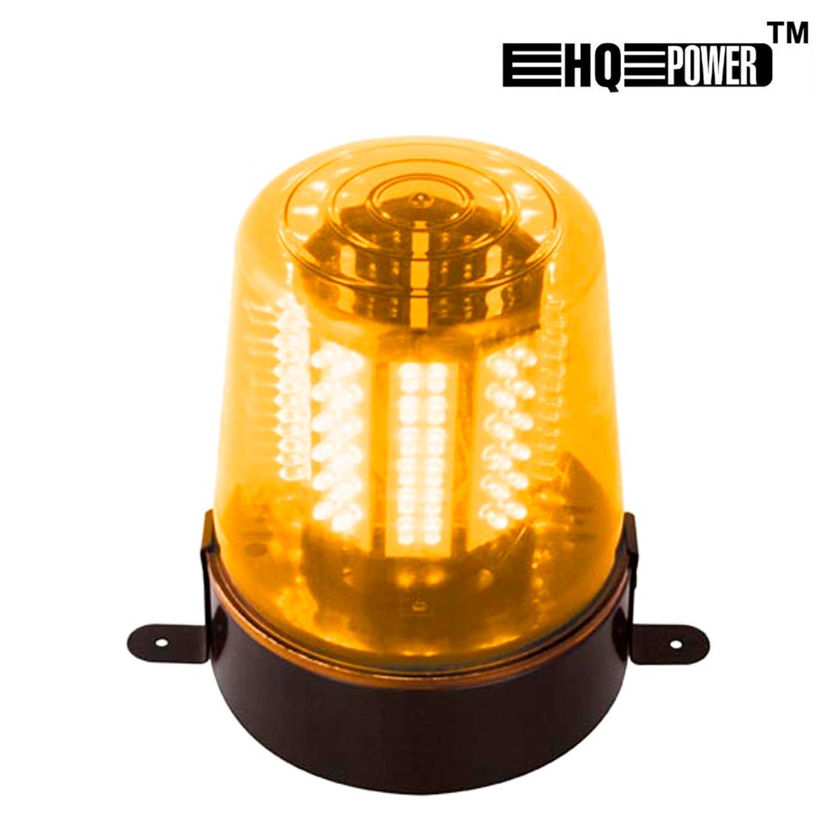 Luz rotativa leds 12v color naranja - Focos led con luces de colores ...
