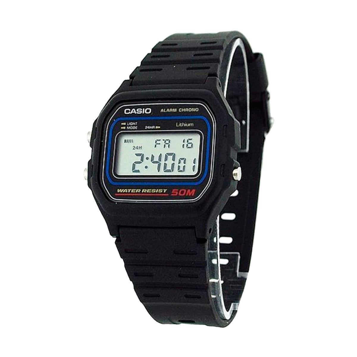 78653346ba15 Reloj de pulsera CASIO W-59-1   relojes   despertadores   hogar ...