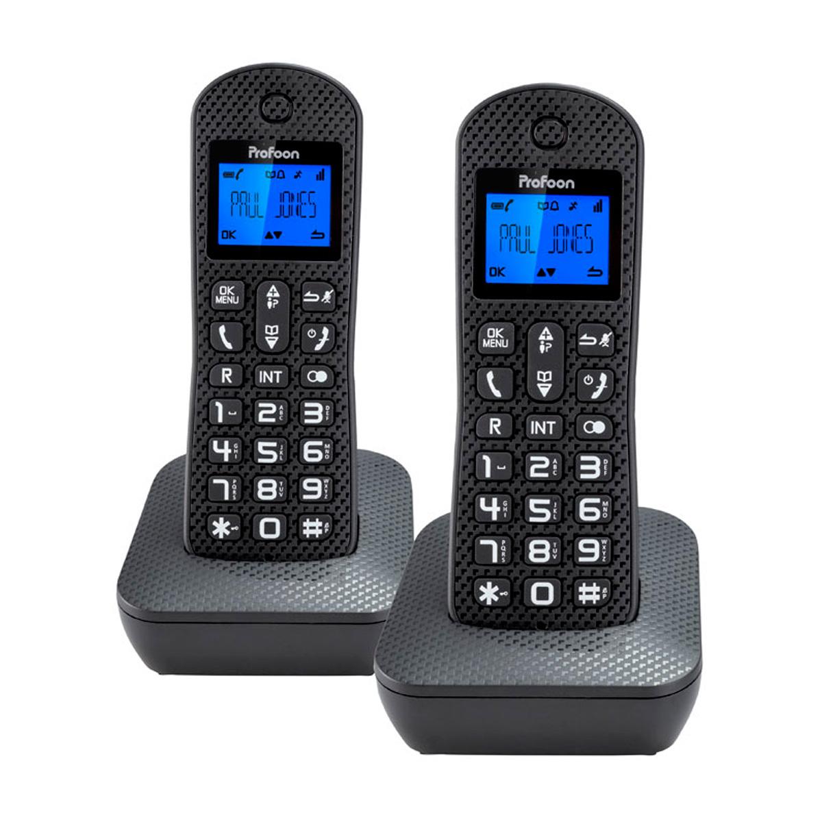 Telefono duo pdx 520zt inalambrico for Telefono oficina