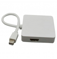 Conversor Mini DisplayPort / DVI-HDMI-DisplayPort hembra
