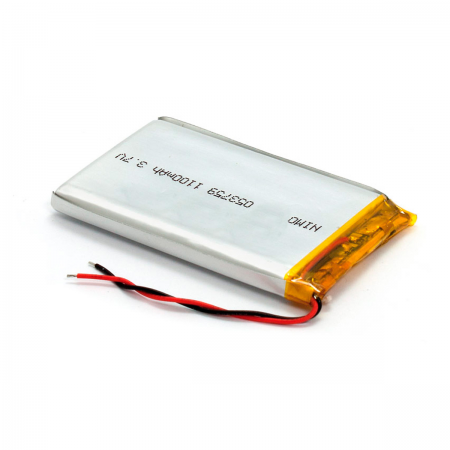 Bateria Litio 3.7V 1100mAh 37x59x5mm