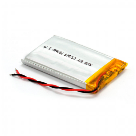 Bateria Litio 3.7V 720mAh 30x48X5mm