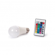 Bombilla LED E27 10W (RGB & Blanco calido)