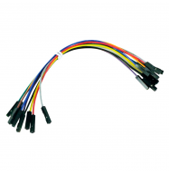 Cable DuPont arduino hembra/hembra 15cm - pack 10 unidades