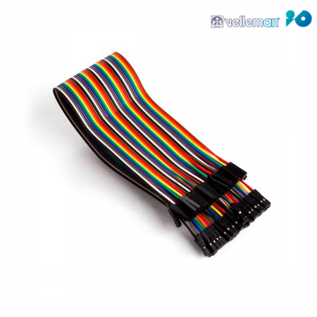 Cable DuPont arduino hembra / hembra - 30cm (Pack 40 unid.)