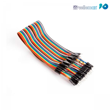 Cable DuPont arduino macho / macho - 30cm (Pack 40 unid.)