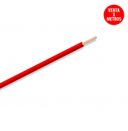 Cable multifilar silicona 1.0mm - rojo