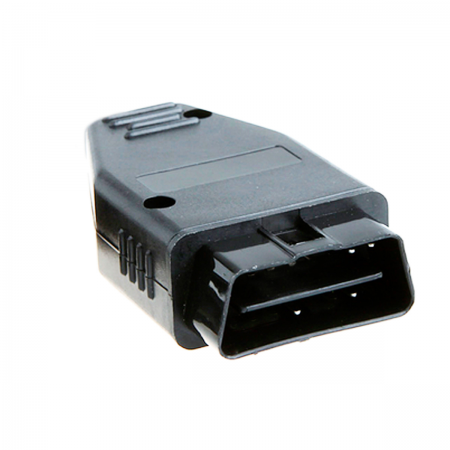 Cable OBD-II con electronica (J1962 + cable DB9 M/H)