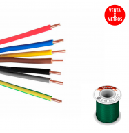 "Cable rigido 0.20mm - verde ""protoboard"" (15315)"
