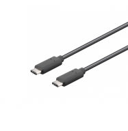 Cable USB 2.0 C macho / USB 2.0 C macho - 1m