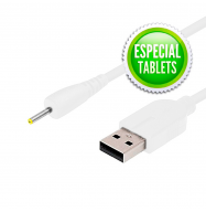 Cable USB 2.0 macho / Jack hueco 2.5x.75x10.7mm (Tablet)