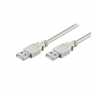 Cable USB 2.0 macho / macho - 1.8m