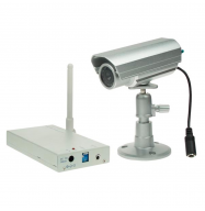 Camara inalambrica 2.4GHz con LED IR (resistente interperie)
