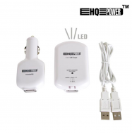 Cargador USB 2A + Power bank 1000mA