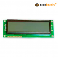 Cebek C-2604 (display LCD 2x16 con luz)