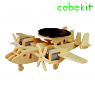 Cebek C-9762 (avion bimotor kit solar)