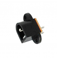 Conector DC 2.1x5.5mm - chasis (hembra)