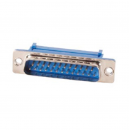 Conector DB25 macho (cable plano)