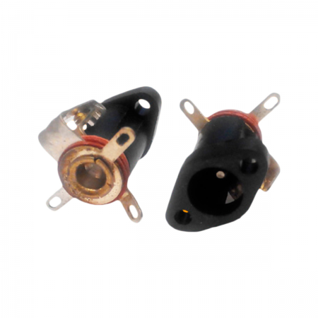 Conector DC 2.1mm - chasis (hembra)