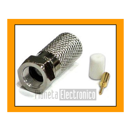 Conector F/M  - RG213 rosca (PIN central)