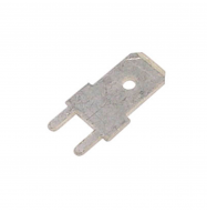 Conector faston 6.3mm - macho C.I.