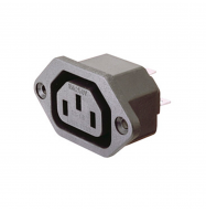Conector IEC 320 C13 - chasis