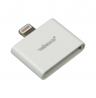 Conector iPhone 4/4S / iPhone 5/6 - blanco