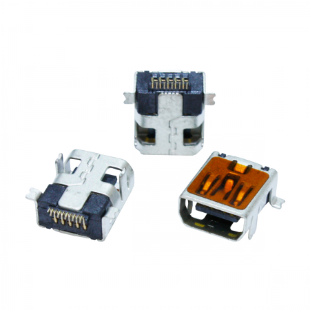 Conector Mini-USB 2.0 hembra 10 PIN a C.I. - (GoPRO HERO 3 / 4)