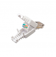 "Conector RJ45 macho (CAT6 ""TOOL-LESS"")"