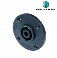 Conector Speakon 8 PIN macho chasis - Neutrik