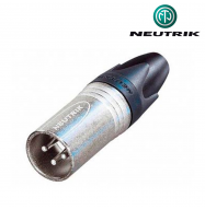 Conector XLR 3 PIN macho - Neutrik