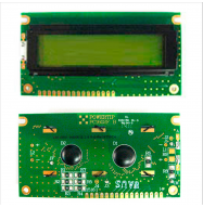 Display LCD 2x16 sin retroiluminación