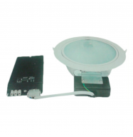 DownLight 2x26W - blanco (kit completo)