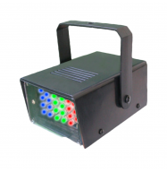 Estroboscopio LED 5W - color RGB