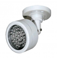 Foco IR 48 LEDs 850nm 60º (IP66)