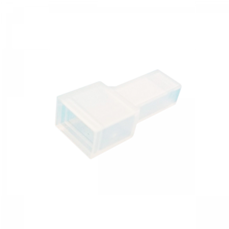 Funda faston 6.32mm - macho (transparente)