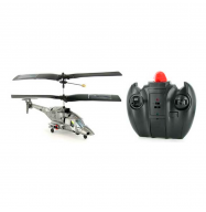 Helicoptero RC Apache 17.5cm (Gris)