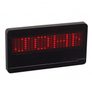 Insignia LED programable 21x7 (DOT MATRIX)