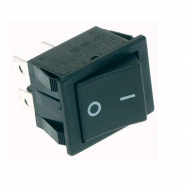 Interruptor basculante ON/OFF 250V 10A - negro