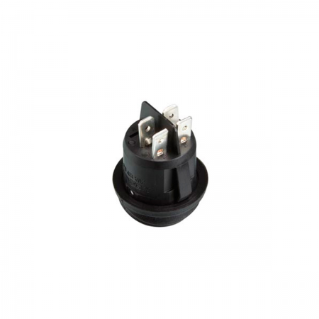 Interruptor basculante ON/OFF 12V - naranja (estanco)