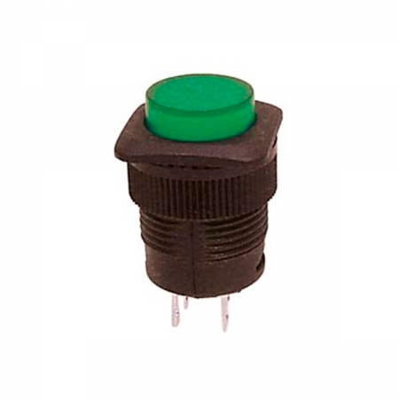 Interruptor chasis OFF/ON - LED verde